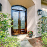 12 150x150 - Beveled Glass Transom & Doors Make for a Grand Entrance