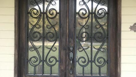 weatherize old door