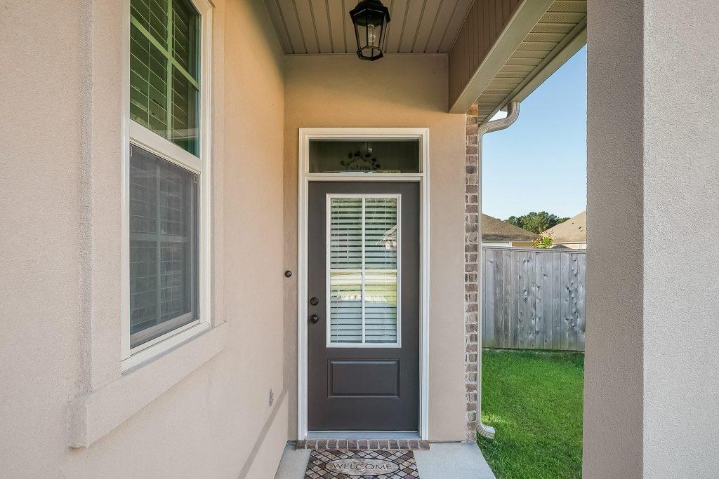 Builder grade door