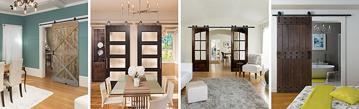 barn door gallery - 5 Perfect Places to Install a Barn Door in Your New Orleans Home