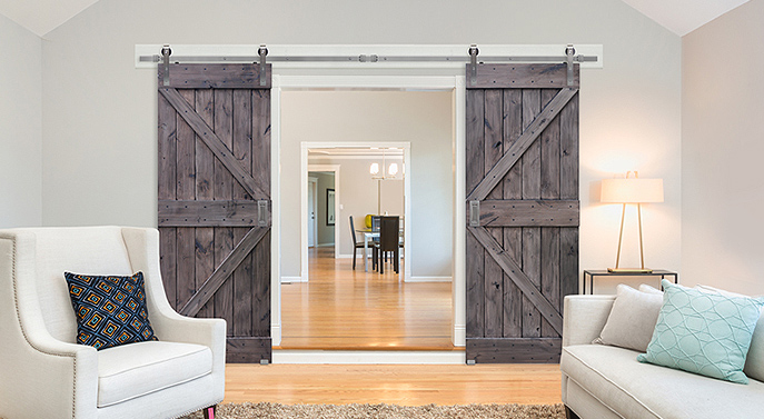 barn door - 5 Perfect Places to Install a Barn Door in Your New Orleans Home