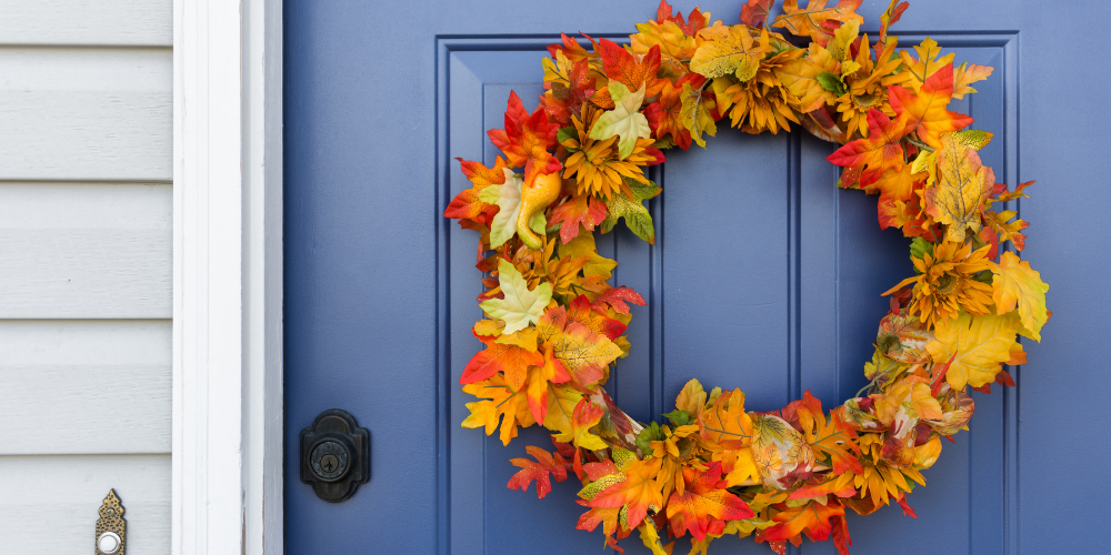 Autumn Entryway - 3 Ways to Warm up Your Entryway for Autumn on a Budget