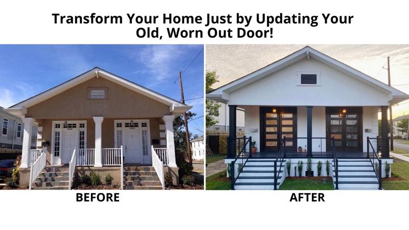081320a - Transform Your Home Just by Updating Your Old, Worn Out Door!